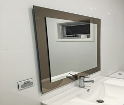 Custom Mirror Silverongrey