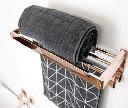 Brooklyn Towel Rack Rose Gold E 1 Orig