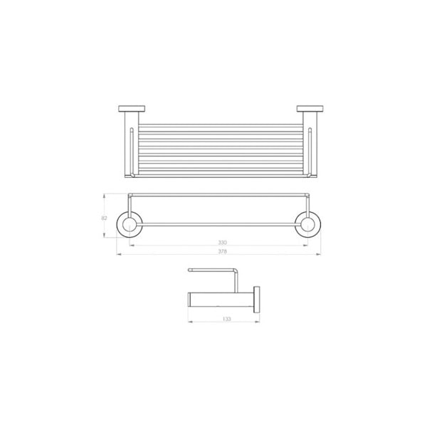 4600 Series Shower Rack 02