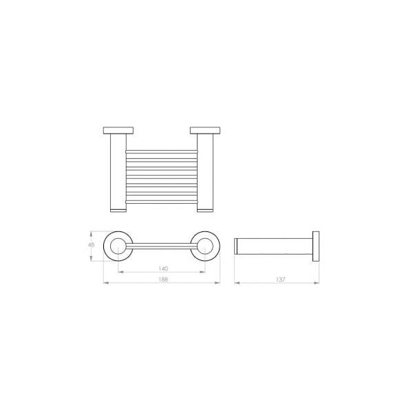 4600 Series Soap Rack 02