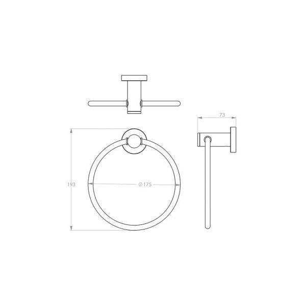 4600 Series Towel Ring 02
