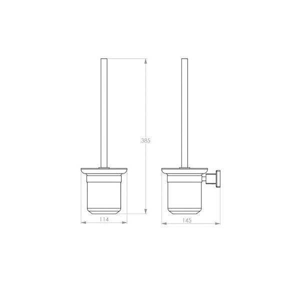 8500 Series Toilet Brush Holder 02