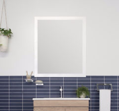 Adp Glass Frame Flush Mirror 1