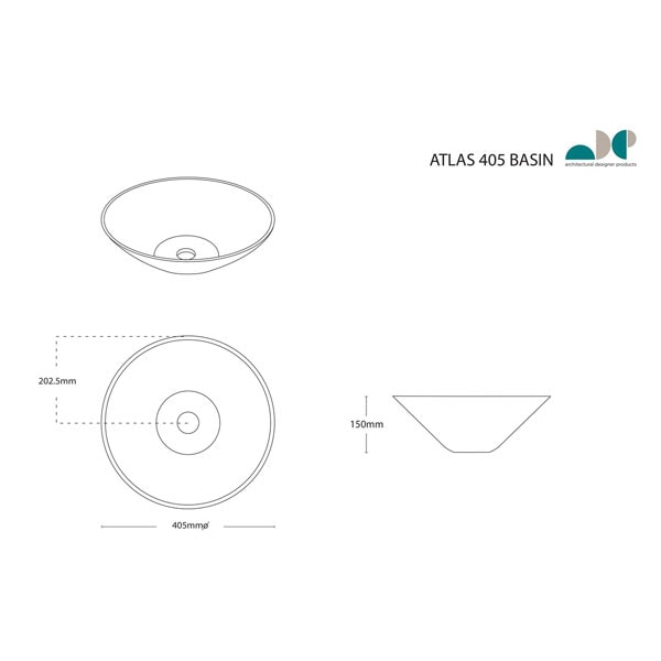Atlas Ceramic Basin 02
