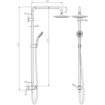 Aquas Luft Twin Ba0106cp Specs