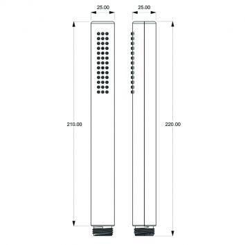 Aquas Slim Ba0303cp Specs