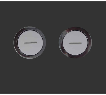 Black Pneumatic Button
