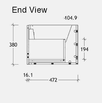 Blue Edge Endview Dwg