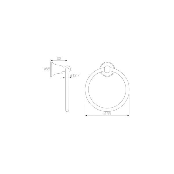 Cascade Towel Ring 02
