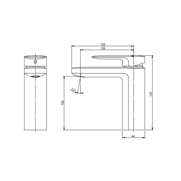 Cerchio Basin Mixer 02