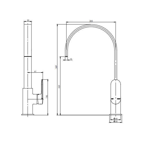 Cerchio Sink Mixer 02
