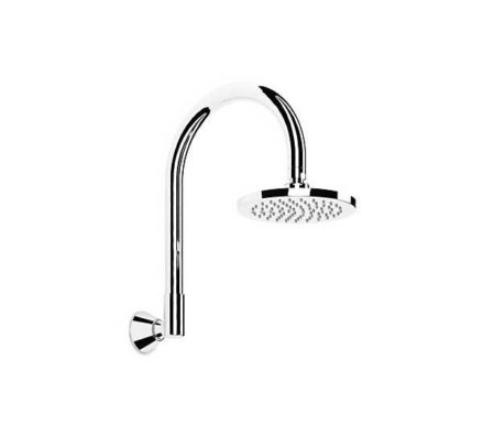 Chisel Outlet Overhead Shower & High Curve Arm 01