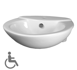 Cotto Julia Assist Semi Recessed Basin