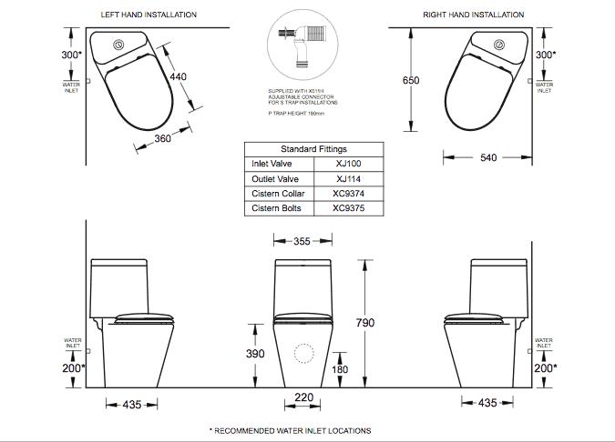Cotto Space Solution Cnr Specs