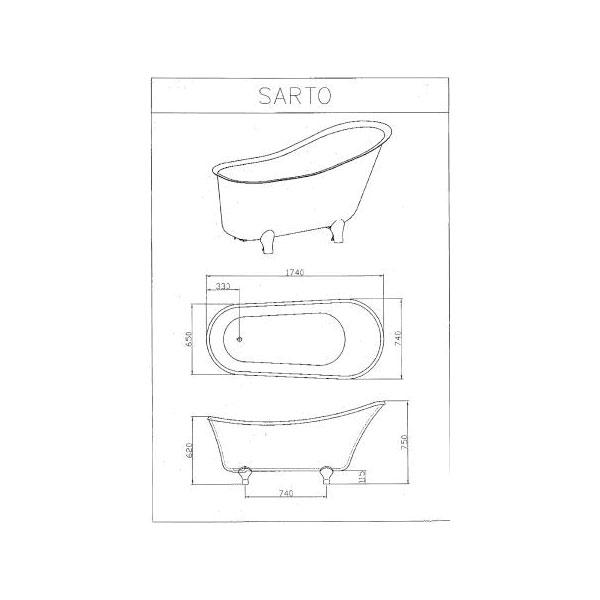 Decina Sarto Clawfoot 02