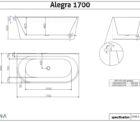 Decina Alegra 1700 Specs
