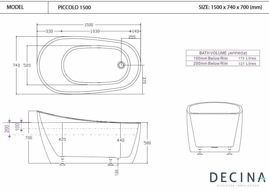 Decina Piccolo 1500 Specs