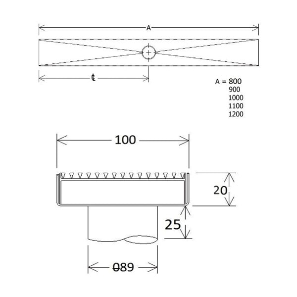 Easy Flow Standard Grate And Trough 02