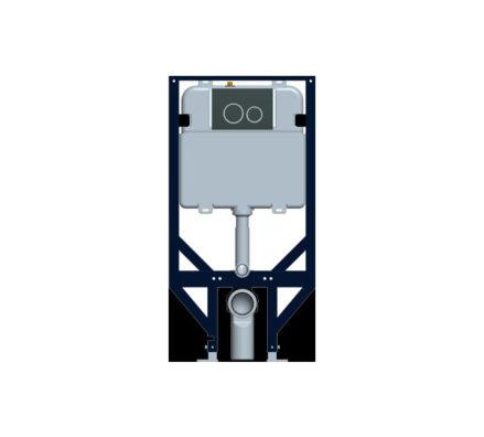 Econoflush Inwall Cistern Framed 01