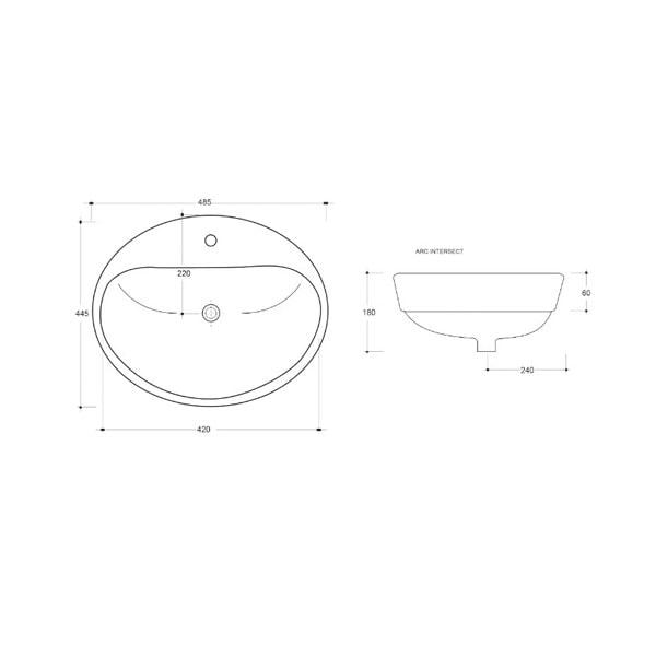 Eye Ceramic Basin 02