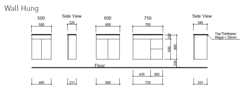 Ensuite Wallhung Dwg