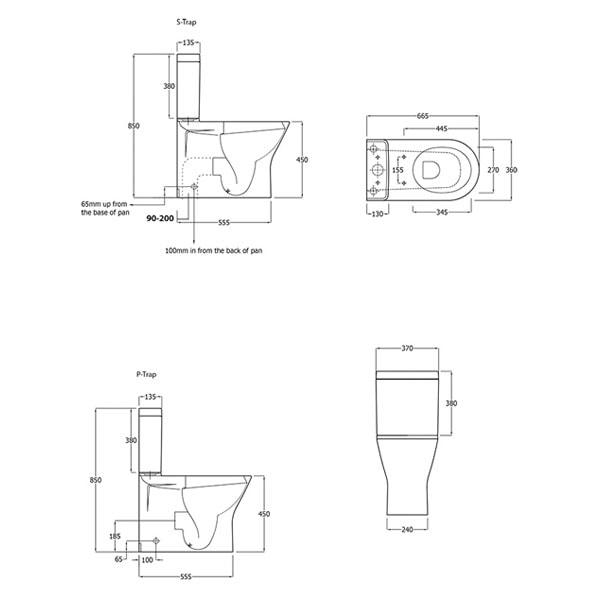 Fienza Rak Resort Rimless Toilet Suite 02