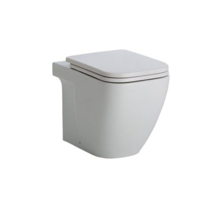 Fienza Caroline Wall Faced Pan + Geberit Inwall Cistern 01