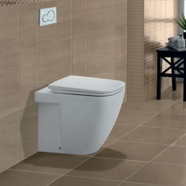 Fienza Caroline Wall Faced Pan + Geberit Inwall Cistern 02