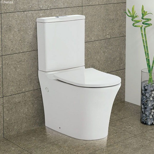 Fienza Luciana Rimless Toilet Suite 03
