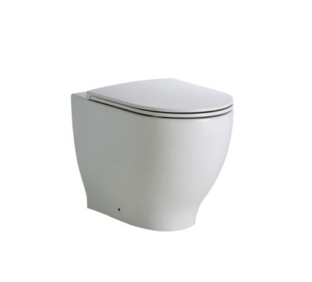 Fienza Moon Wall Faced Pan + Geberit Inwall Cistern 01