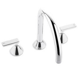 Faucet 31722 Chisel Spa Set Hob Lever