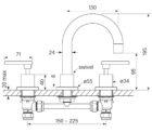 Faucet Chisel D Basin Set Lever Specs