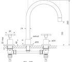 Faucet Chisel D Sink Set Cross Specs