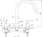 Faucet Chisel D Sink Set Lever Specs