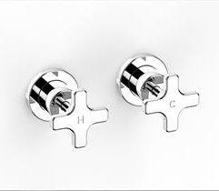 Faucet Chisel D Wall Assemb Cross