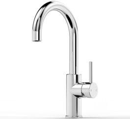 Faucet Pegasi M Basin Mix Curve 160