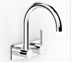 Faucet Pegasi M Wall Basinbp Mix Swivel