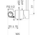 Faucet Pegasi M Wall Mix 55 Specs