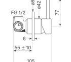 Faucet Pegasi M Wall Mix 80 Specs