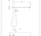Fienza 433.104 Empire Shower And Integrated Shelf
