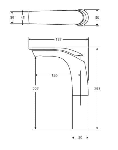 Fienza Keeto Tallmix Specs