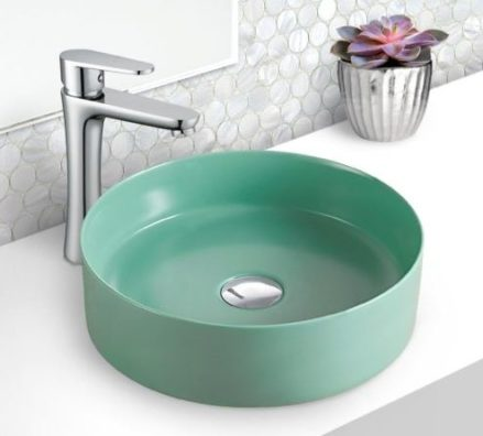Fienza Reba Tiffany Basin Green