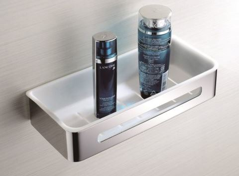 Fienza Shower Shelf Rect Pvc Hero