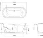 Ga Balthazar Stone Bath 22833 Specs