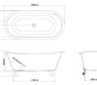 Ga Batello Stone Bath 22834 Specs