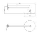 Ga Fontana Round Horizontal Shower Rohs1 Specs