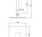 Ga Fontana Square Vertical Shower Svs01 And Svs01 4 Specs
