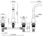 Ga Lucia Goose 3piece Basin Set 3gbs C Specs
