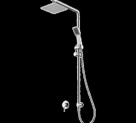 Ga Monza Square Twin Shower Rhb06