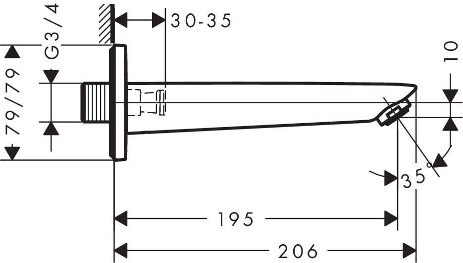Hansgrohe Focus 71410000 Specs